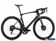 2018 Scott Foil Premium Disc Road Bike Medium Carbon Shimano Dura-Ace Di2 Roval for Sale