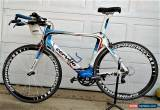 Classic Cervelo S5 Shape Carbon Road TT Bike Sram Force Large Frame Custom Painted for Sale