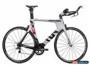 2014 Cervelo P3 Triathlon TT Bike 58cm Large Carbon Rotor Magura Dura-Ace for Sale