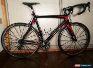Eddy Merckx EMX-5 Carbon Road Bike, Black and Red, 52cm 2010 for Sale