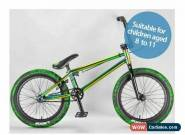 MAFIABIKES Madmain Green Fuel 18 inch BMX Bike (for children aged 8 to 11)  for Sale