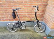 Brompton  M3l folding bike shipping worldwide available  for Sale