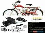 Hot 80CC Bicycle Engine Kit 2Stroke Gas Motorized Bike Motor DIY Set 55km/hour for Sale