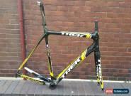 Trek Madone 6 2011 Frameset H1 Gloss Black/Yellow/White 58cm for Sale