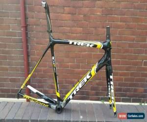Classic Trek Madone 6 2011 Frameset H1 Gloss Black/Yellow/White 58cm for Sale