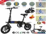 "E-Bike Folding Electric Bike Moped Bicycle City Bike 250W Power 14"" Wheel 25km/h for Sale"