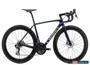 2016 Specialized S-Works Tarmac Disc Road Bike 52cm Carbon Quarq SRAM Red eTap for Sale