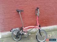 Brompton P6R folding bike shipping worldwide available  for Sale