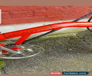 Classic brompton M3R folding bike MK1 N: 40 very rare machine  shipping worldwide  . for Sale
