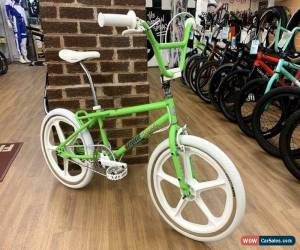 Classic Mongoose Decade c1986 Old School BMX Bike Green/White Skyway Tuff Wheels for Sale