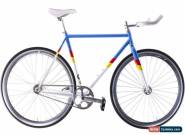 USED State Bicycle Co. Rutherford 55cm Fixed Gear Bike 4130 Chromoly Steel Frame for Sale