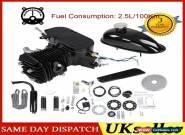 80CC 2 Stroke Motorized Push Bike Motorised Bicycle Petrol Gas Motor Engine Kit for Sale