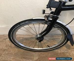 Classic brompton folding bike 6 speed for Sale