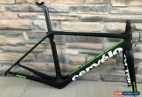 Classic 2018 Cervelo R5 Carbon Road Frameset Di2 Wired 54cm Rim Brake Black/Fluoro for Sale