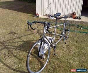 Classic Carbon & Titanium Tandem Racing Bicycle for Sale