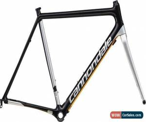 Classic Cannondale supersix EVO disc road racing bike bicycle frame 63cm new for Sale