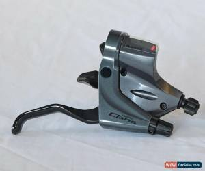 Classic Shimano Claris ST-R240 Gear-Shifter/Brake-Levers for 2x8 Speed Flat Bar Bike for Sale