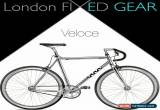 "Classic nFIXED ""Veloce"" Aluminium Silver Urban Fixie for Sale"