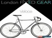 "nFIXED ""Veloce"" Aluminium Silver Urban Fixie for Sale"