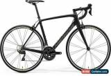 Classic Merida Scultura 4000 2019 Carbon Road Race Fitness Gravel  Black Size XL 59 cm for Sale