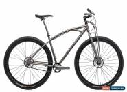 "Black Sheep Single Speed Mountain Bike 18in 29"" Titanium Shimano Industry Nine for Sale"