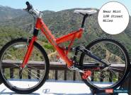 Cannondale Super V 700 - NEVER off road -US RETRO Tangerine Near Mint LOW Miles for Sale