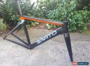Sarto Lampo 2018 Handmade Italian Crabon Frameset Small  for Sale