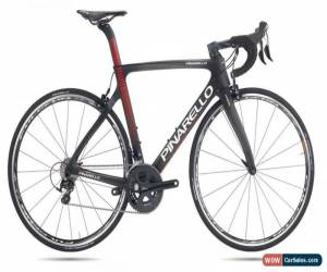 Classic 2018 PINARELLO GAN ULTEGRA ROAD RACE CARBON BIKE SIZE 54 COLOR BLACK RED for Sale