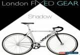 "Classic nFIXED ""Single-Speed Shadow"" Aluminium/Carbon Bike Track Fixie for Sale"