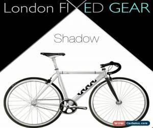 "Classic nFIXED ""Single-Speed Shadow"" Aluminium/Carbon Bike Track Fixie for Sale"