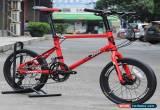 "Classic JAVA Minivelo Bike 20"" 406 Mini velo Urban Commuter 18s Hydraulic Disc Brake for Sale"