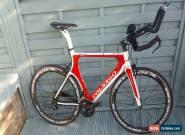 Fantastic Very Rare Colnago Flight Carbon Fibre Time Trial Bike Or Frame & Forks for Sale