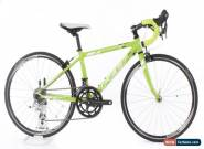 "USED 2013 Felt F24 Youth Kid's Road Bike Aluminum 24"" Wheel 2x8 Speed Green for Sale"
