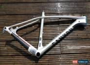 CANYON GRAND CANYON CF SL FULL CARBON FRAME / MTB / LARGE / HEADSET / SILVER for Sale
