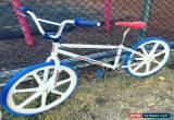 Classic SKYWAY 24inch BMX, WHITE FRAME, SKYWAY TUFFS, REDLINE CRANK, for Sale