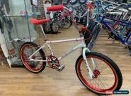 Redline MX-II Custom Old School 1980's BMX Bike White/Red for Sale