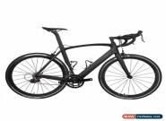 56cm AERO Carbon Frame Road Bike 700C Wheel Clincher Fork seatpost V brake 172.5 for Sale