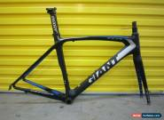GIANT TCR CARBON AERO FRAMESET.EX COND.RARE.SUPERLIGHT/SUPERFAST.COST:$2200.55 for Sale