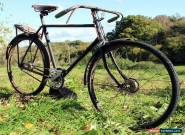 1930s RUDGE-WHITWORTH Fast Sports Model. Hub Brakes. Vintage Antique Bicycle  for Sale