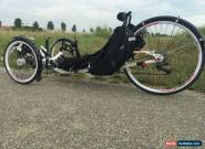 ICE VORTEX RECUMBENT TRIKE - superb condition, low kms, many extras for Sale