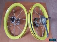 "2 Kids Children Bike Rims Suit 12"" Tyres Front And Rear for Sale"