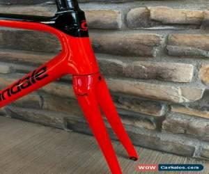 Classic Acid Red Cannondale Supersix Evo Hi-Mod Carbon Frameset 56cm eTap Ceramicspeed for Sale