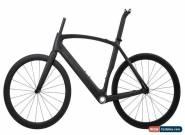 AERO Road Bike Frame Carbon Wheelset Clincher Tubeless 700C Race V Brake 56cm for Sale