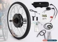 "26"" Electric Bicycle Motor Conversion Kit Front Rear Wheel E Bike Hub 500W 1000W for Sale"