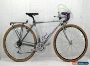 Univega Via Montega Touring Bike Small 54cm Deore DX Canti Steel Gravel Charity! for Sale