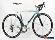 Bianchi D2 Crono Aluminum Bike Dura-Ace 11 Speed Rolf Wheels Celeste 53cm for Sale
