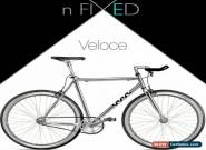"nFIXED ""Veloce"" Aluminium Silver Urban Fixie for Sale"