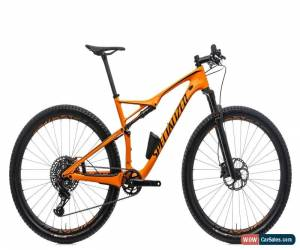Classic 2017 Specialized FSR Pro World Cup Mountain Bike Large 29 Carbon SRAM X01 Eagle for Sale