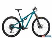 "2019 Yeti SB100 Turq Mountain Bike Medium 29"" Carbon X01 Eagle 12s Fox DT Swiss for Sale"