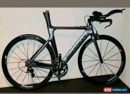 Boardman carbon Time Trial Bike 2019 edition ATT 9.0 with Zipp bars size medium for Sale